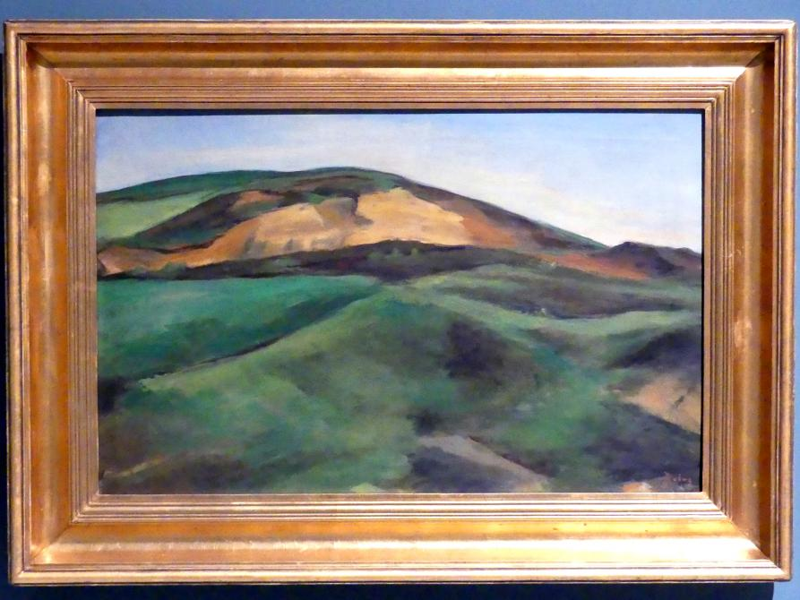 Václav Rabas: Felder bei Krušovice, 1926