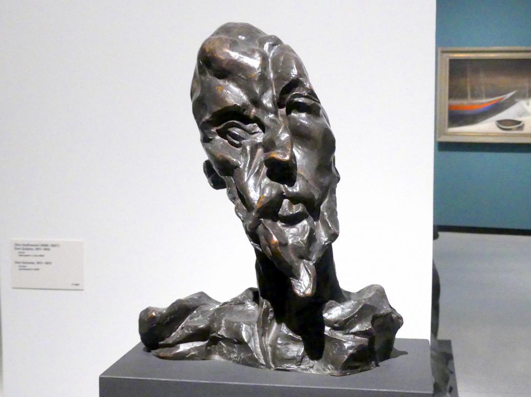 Otto Gutfreund: Don Quichotte, 1911 - 1912