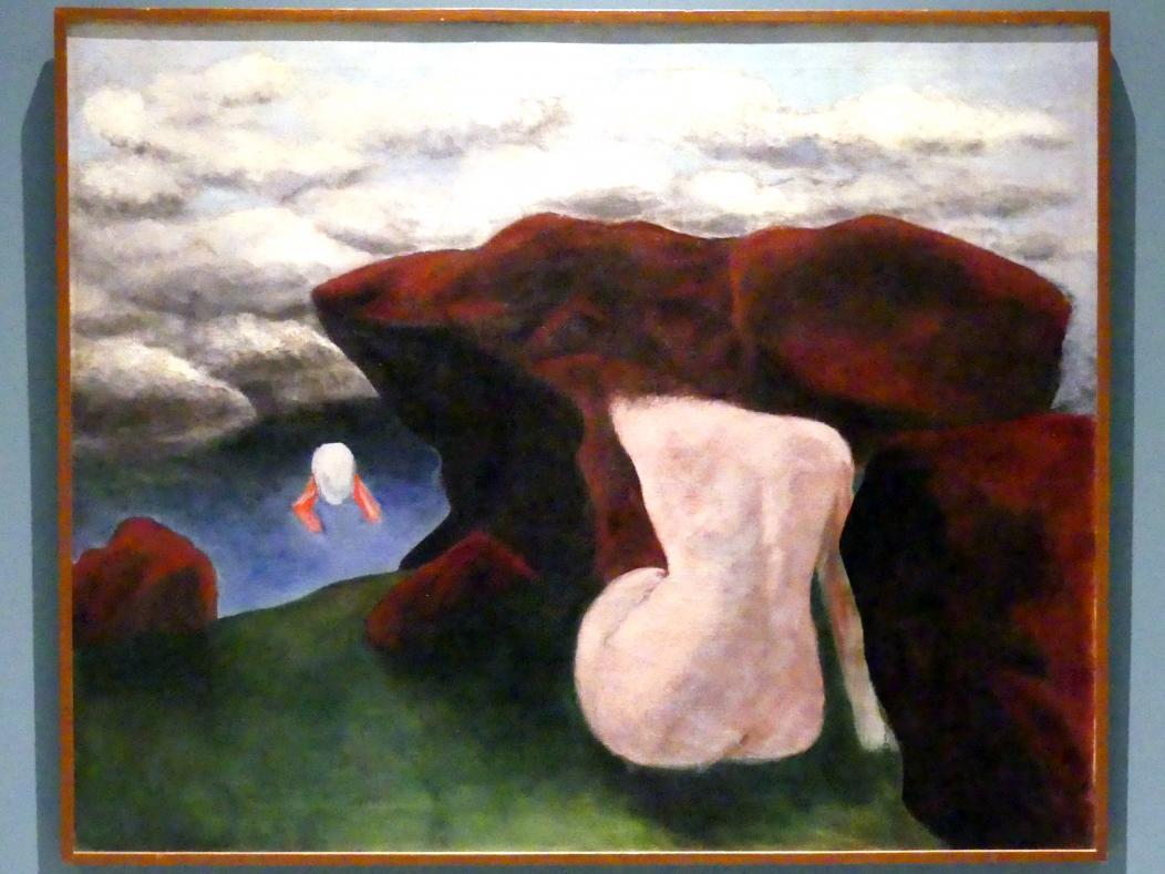 Josef Šíma: Erinnerung an die nie gesehene Landschaft, 1936