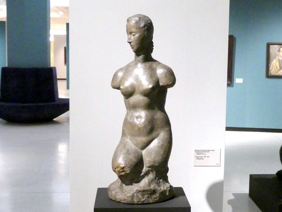 Wilhelm Lehmbruck: Weiblicher Torso, 1910 - 1911