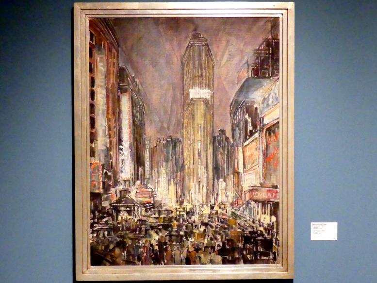 Maxim Kopf: Times Square, 1924