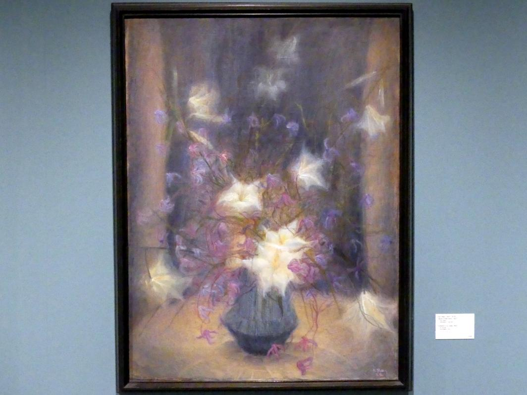 Karl May: Vase mit Blumen, 1923