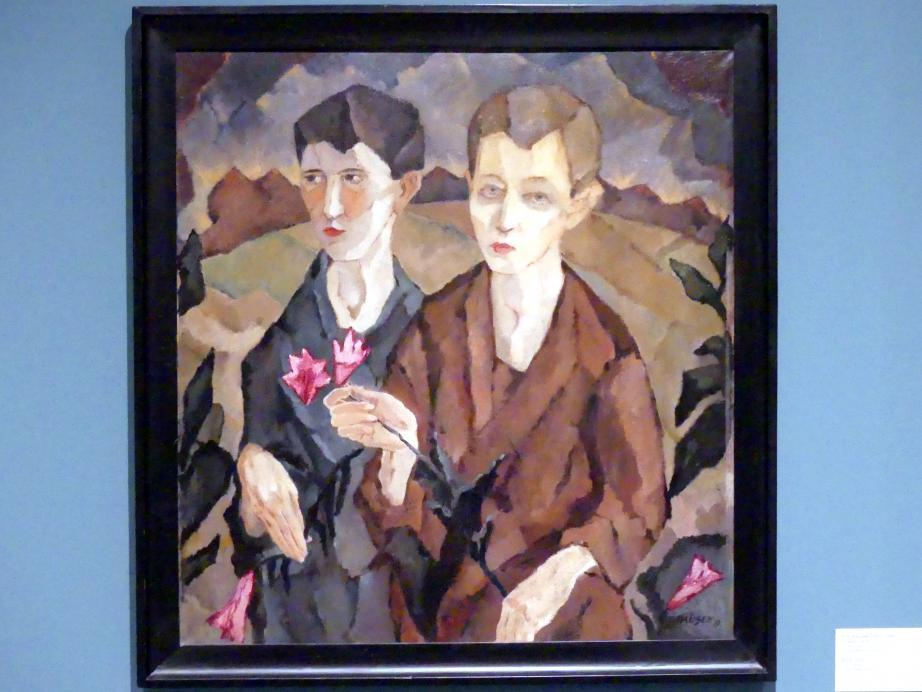 Fritz Kausek: Zwei Jungs, 1919