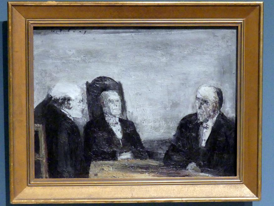 Wilhelm Thöny: Das Urteil, um 1928