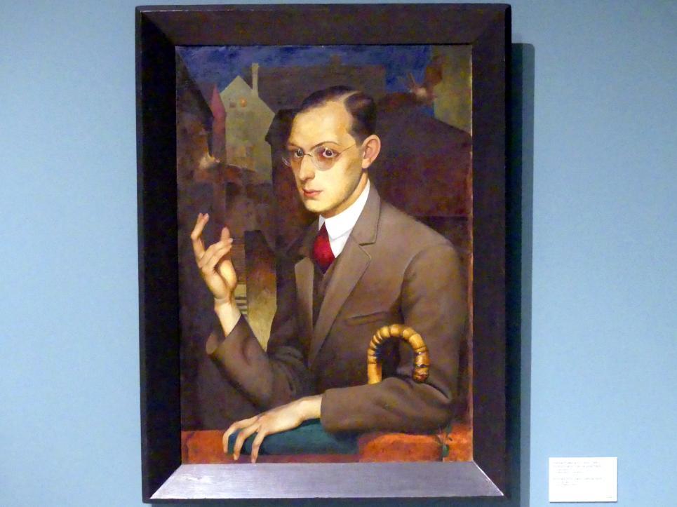 Herbert Seemann: Porträt Dr. Hahn, vor 1928