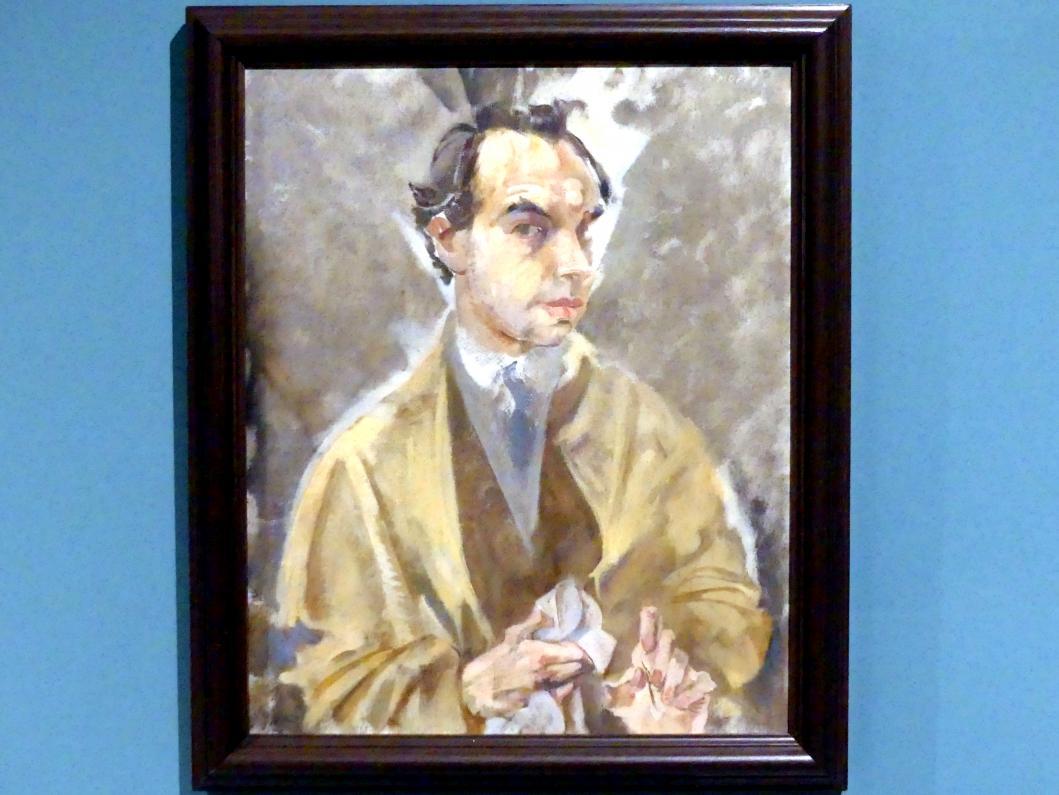 Max Oppenheimer: Selbstporträt, 1924