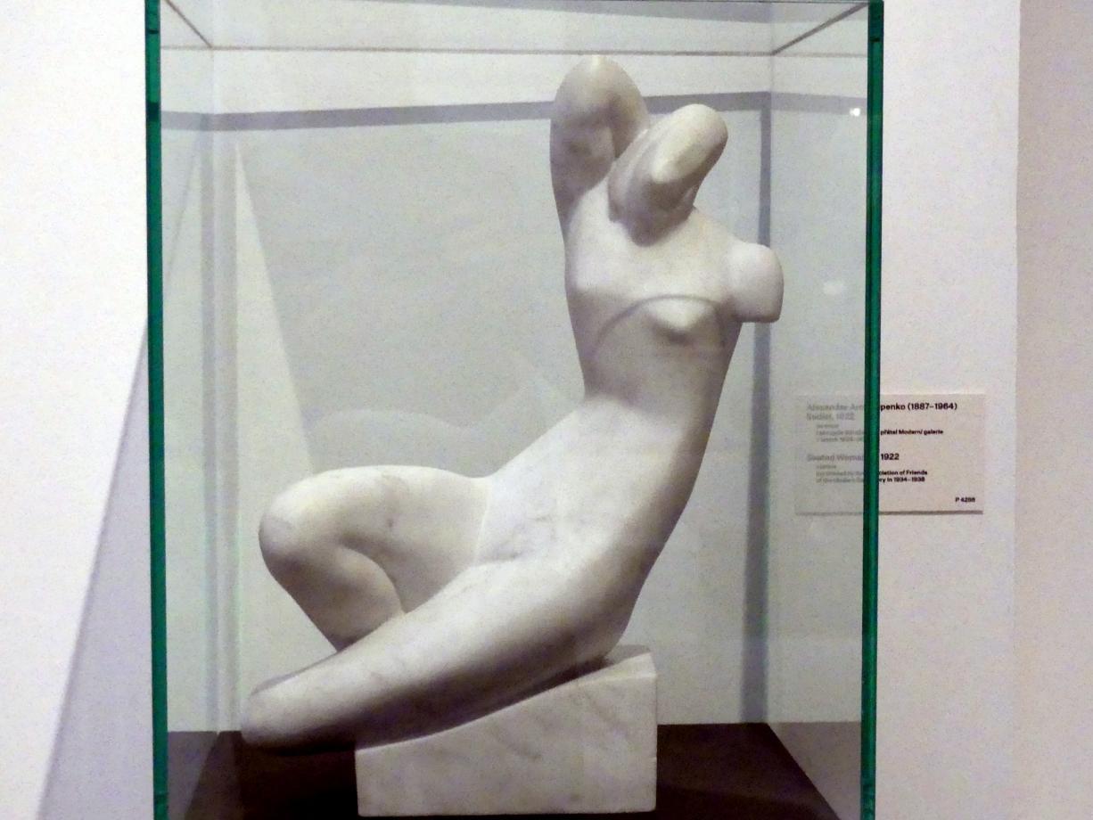 Alexander Archipenko: Sitzende, 1922
