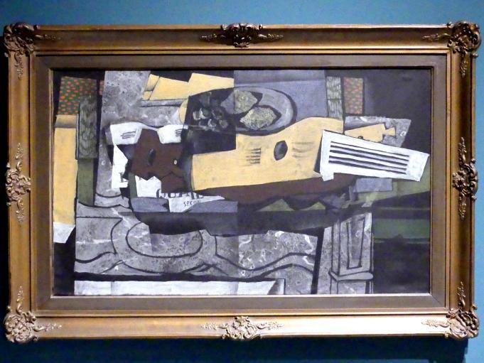 Georges Braque: Stillleben mit Gitarre, 1921