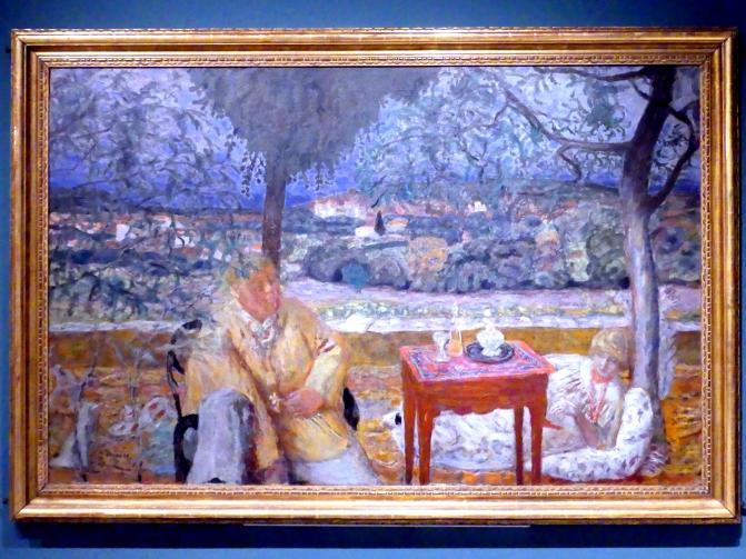 Pierre Bonnard: Unterhaltung in der Provence, 1913 - 1914