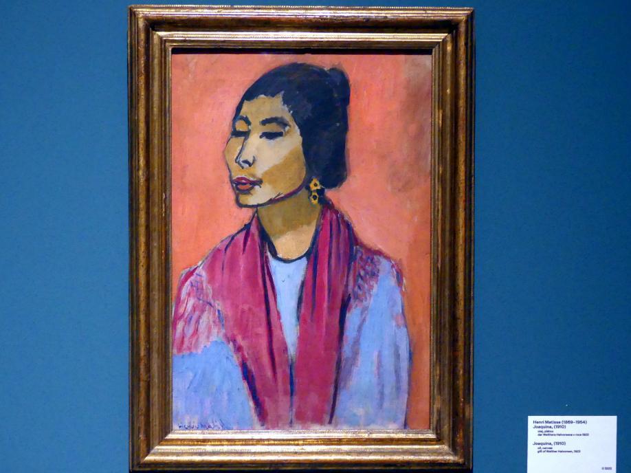 Henri Matisse: Joaquina, 1910