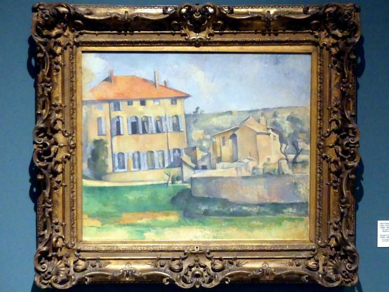 Paul Cézanne: Haus in Aix (Jas de Bouffan), 1885 - 1887