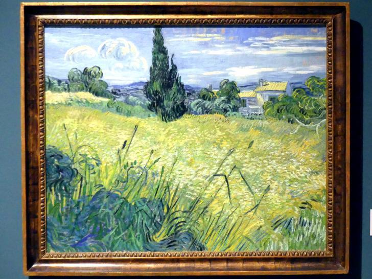Vincent van Gogh: Grünes Weizenfeld, 1889