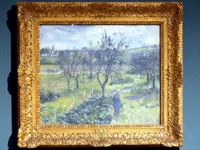 Camille Pissarro: Garten in Val Hermeil, 1880