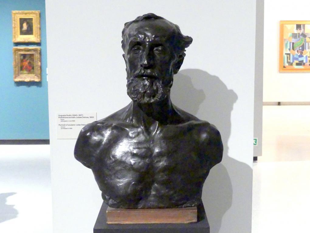 Auguste Rodin: Büste des Bildhauers Jules Dalou, 1883