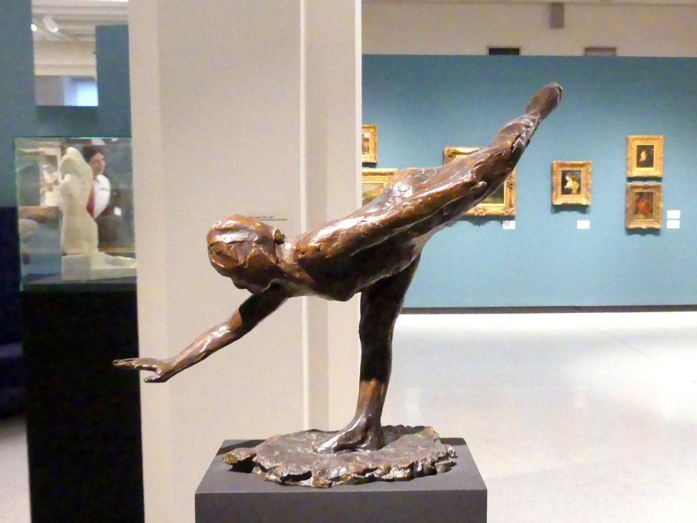 Edgar Degas: Große Arabeske (dritte Position), 1880 - 1890
