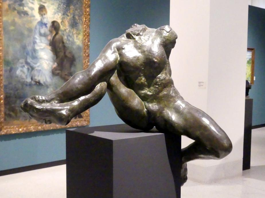 Auguste Rodin: Iris, Gesandte der Götter, 1890 - 1891