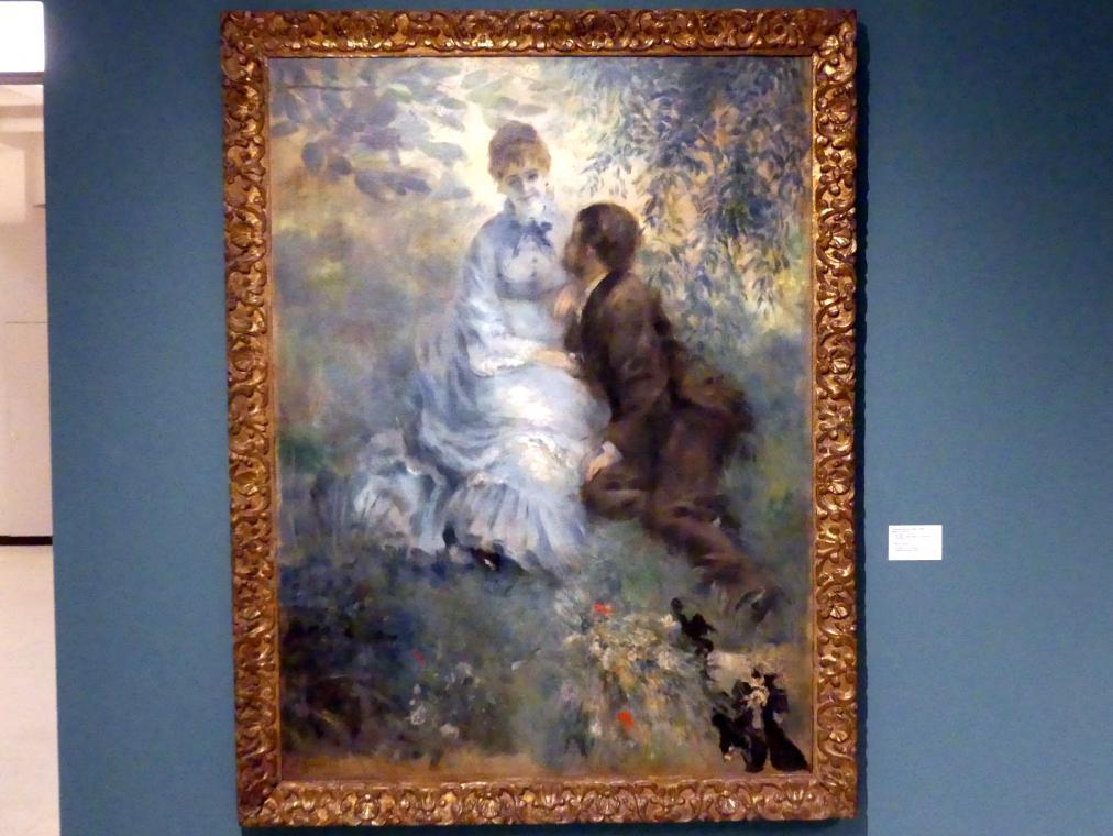 Auguste Renoir (Pierre-Auguste Renoir): Liebespaar, 1875