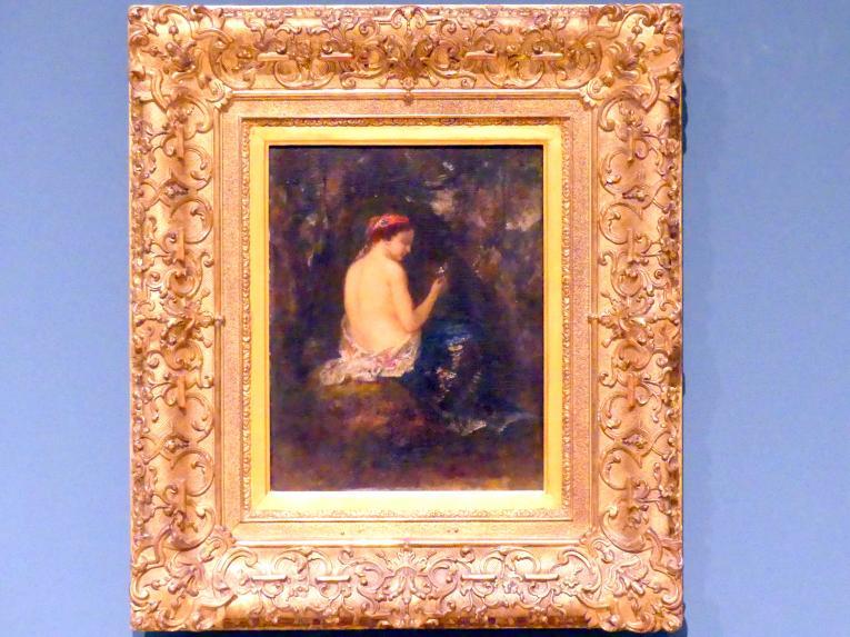 Narcisso Virgilio Díaz de la Peña: Waldesruh, um 1850