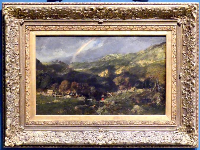 Théodore Rousseau: Landschaft nach einem Sturm, 1834 - 1835