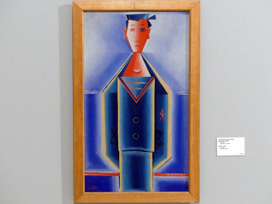 Josef Čapek: Matrose, 1917