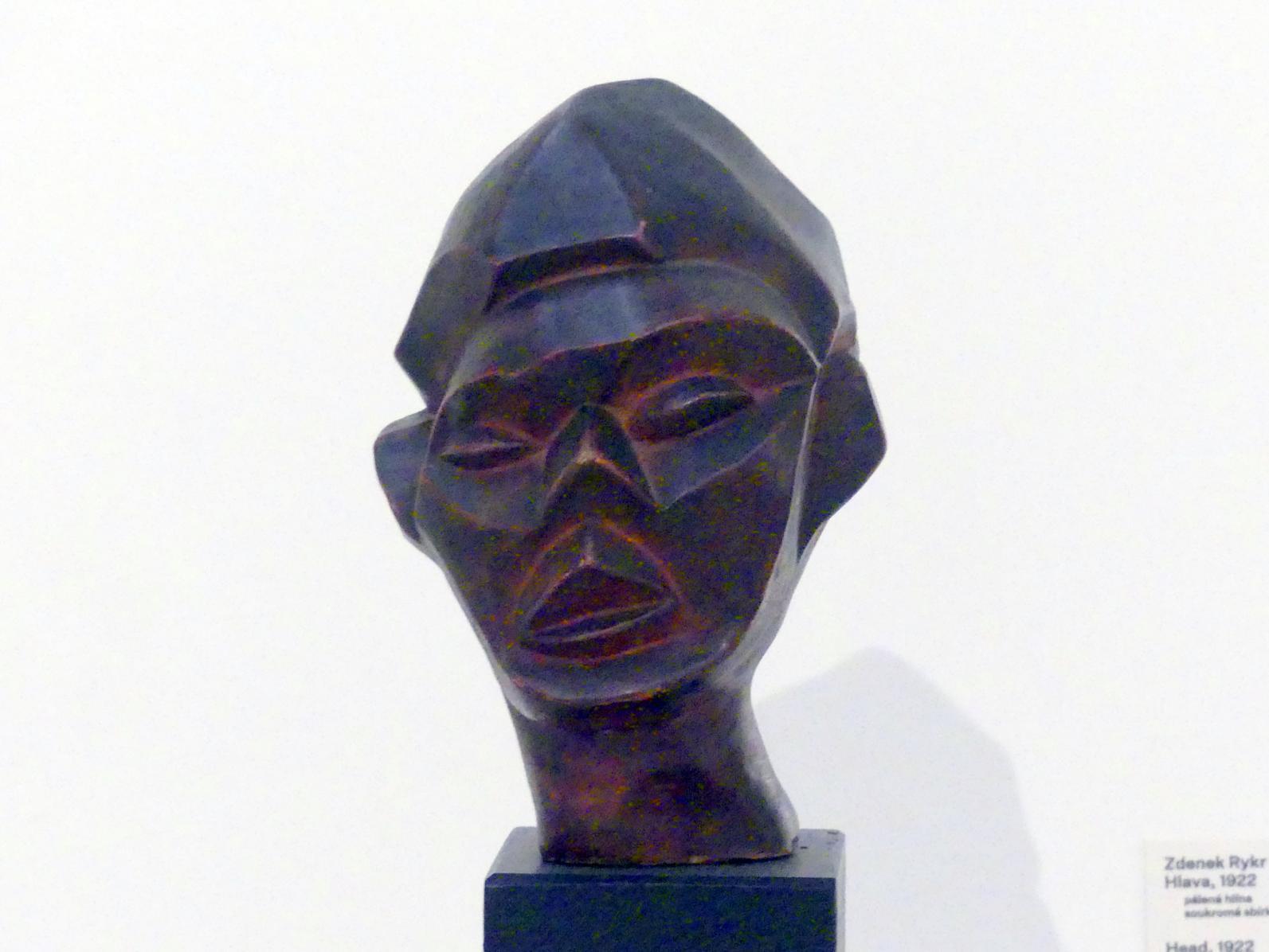Zdeněk Rykr: Kopf, 1922
