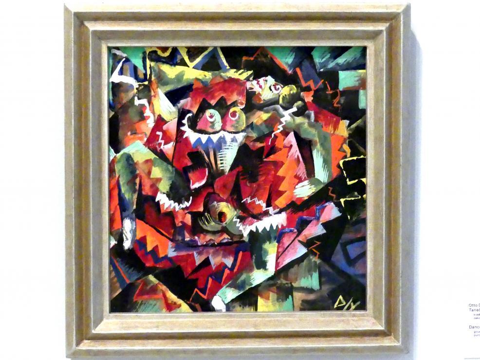Otto Dix: Tänzerin (Dirne), 1917 - 1919