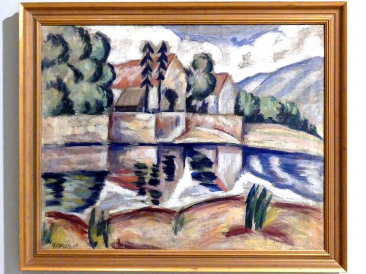 Otakar Marvánek: Mühle, um 1920