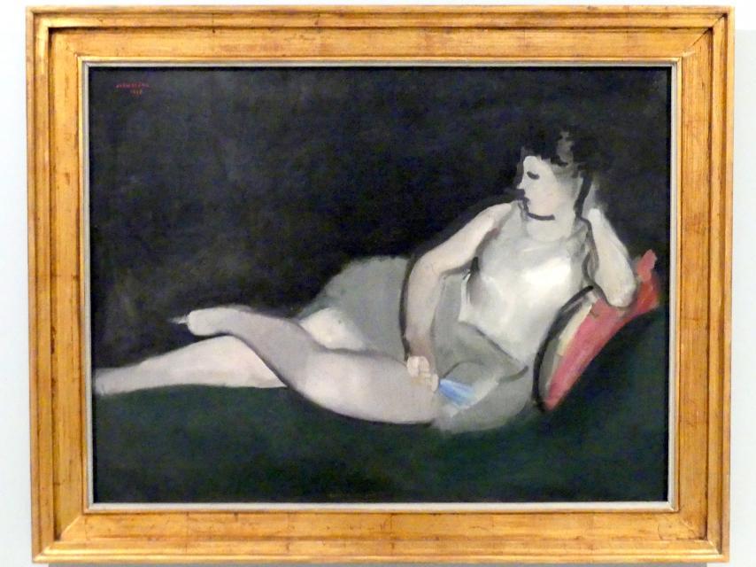 Rudolf Kremlička: Ruhende Tänzerin, 1918