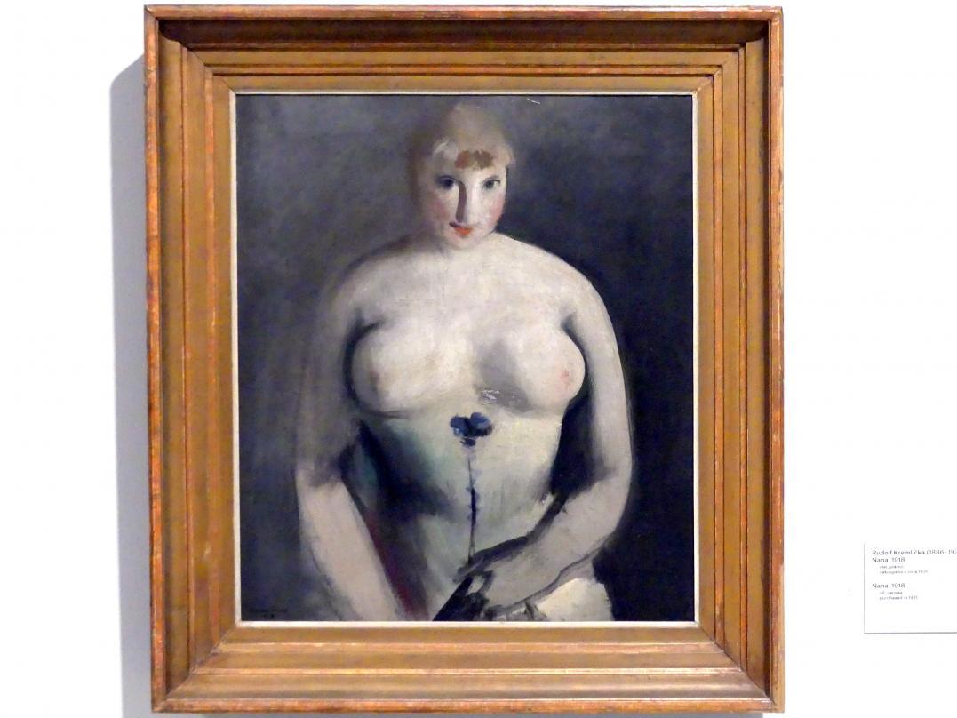Rudolf Kremlička: Nana, 1918