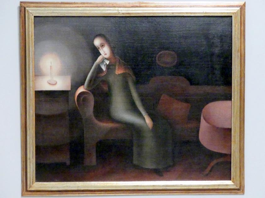 Jan Zrzavý: Melancholie II, 1920