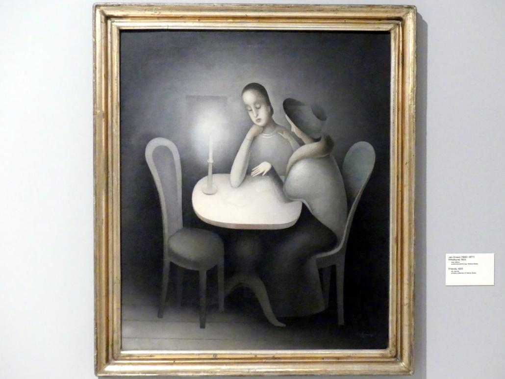 Jan Zrzavý: Freundinnen, 1923