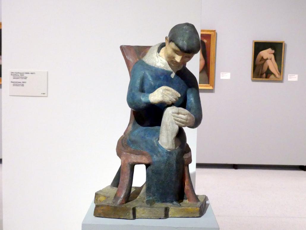 Otto Gutfreund: Näherin, 1920