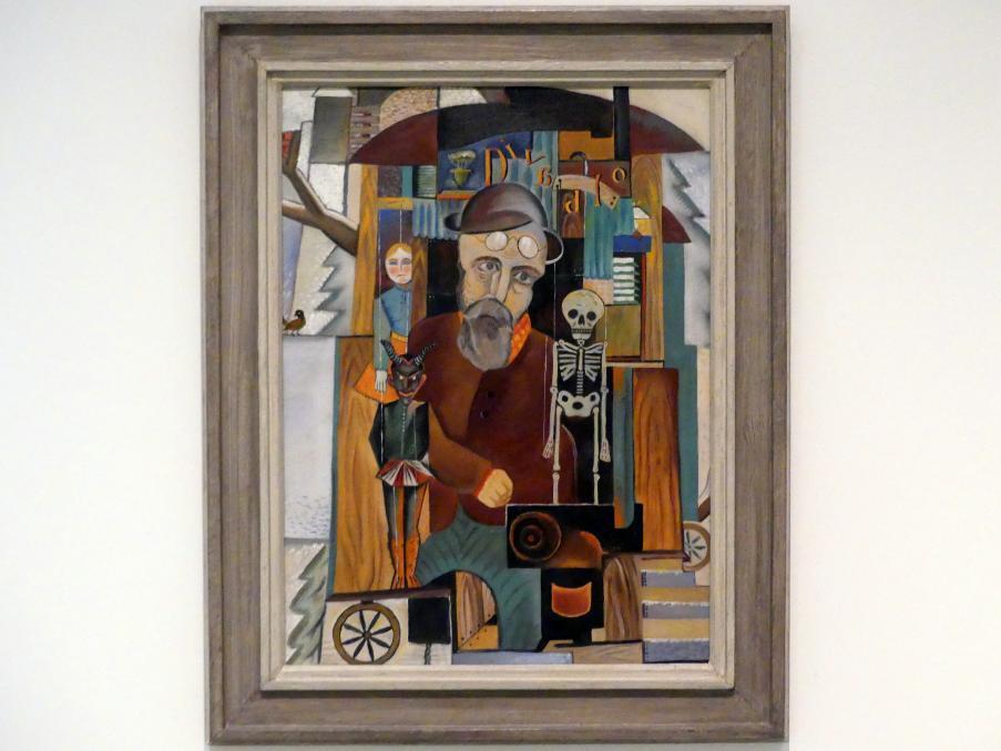 Jindřich Štyrský: Puppenspieler, 1921