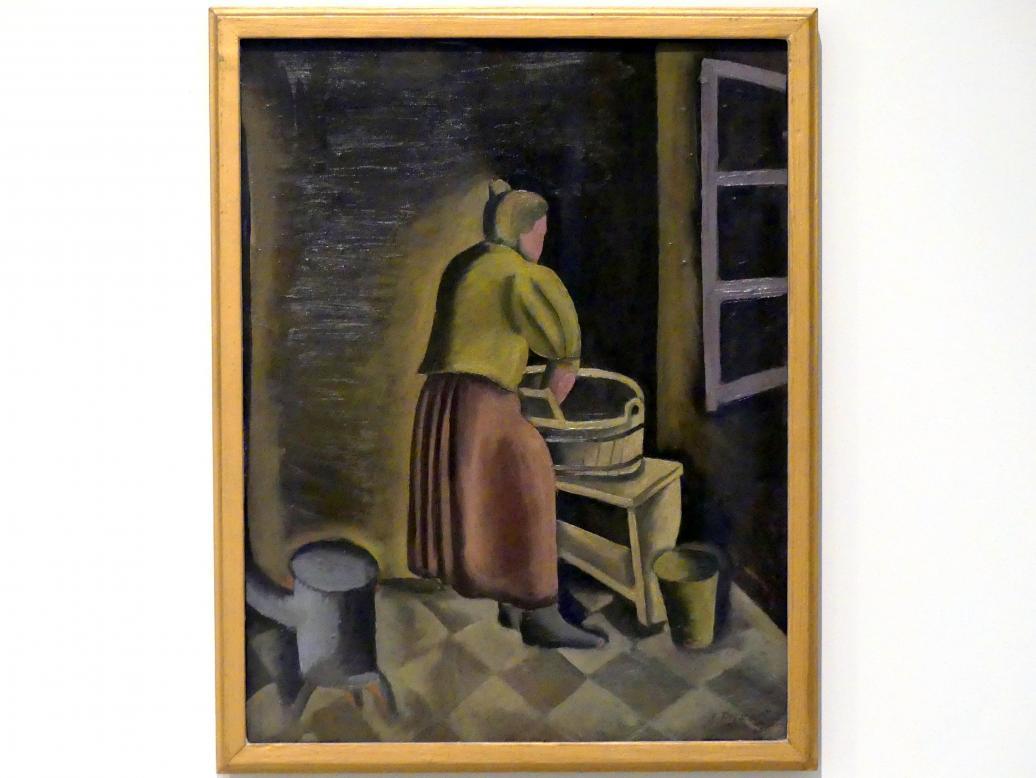 Bedřich Piskač: Waschfrau, 1921