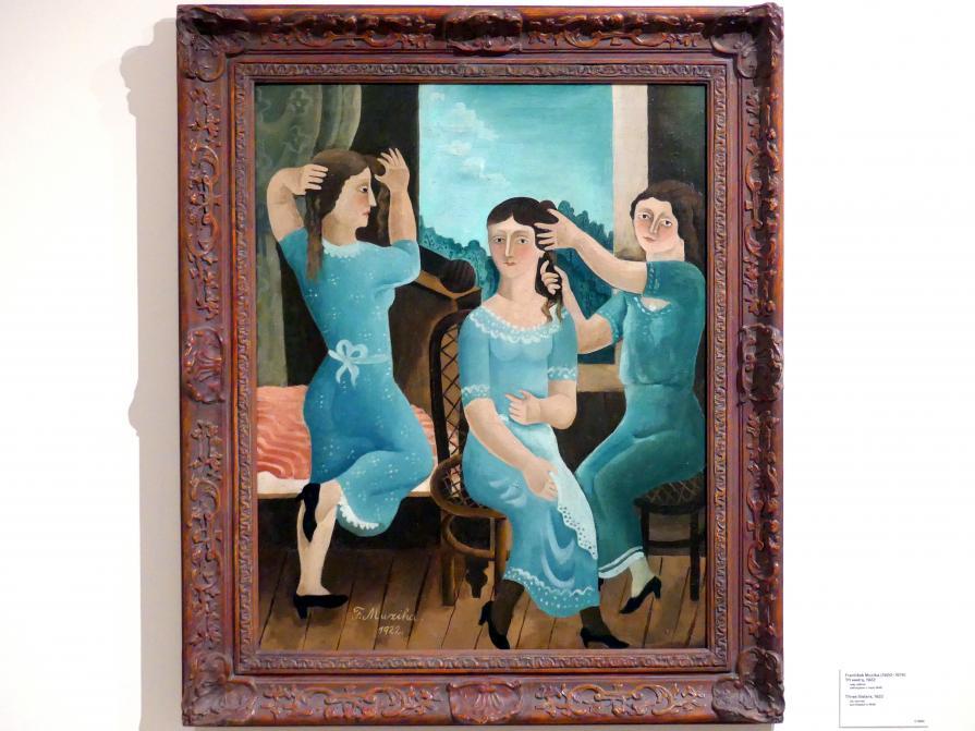 František Muzika: Drei Schwestern, 1922