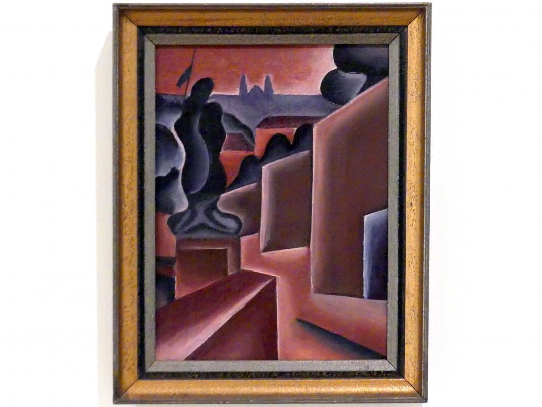 Karel Teige: Prager Burg, 1920