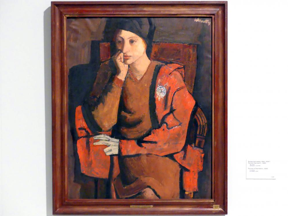 Richard Schrötter: Porträt Charlotte R., 1929
