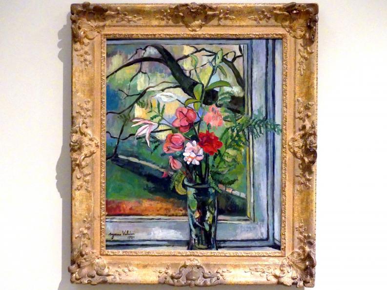Suzanne Valadon: Blumen vor einem Fenster, 1930