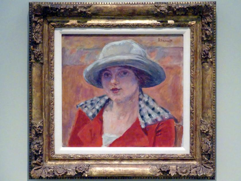 Pierre Bonnard: Bildnis einer jungen Frau, um 1919