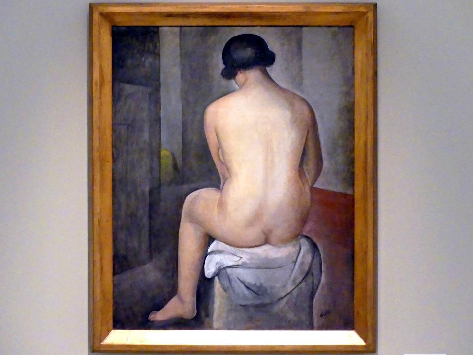 Otakar Kubín: Sitzender Akt, 1926
