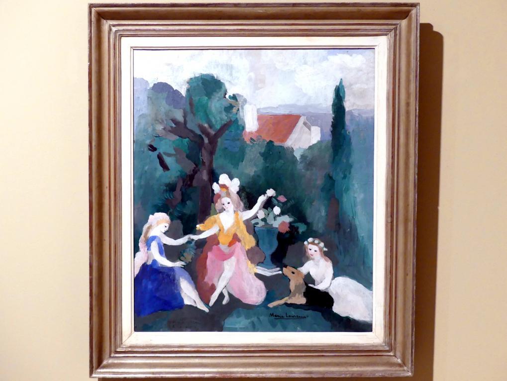 Marie Laurencin: Drei Mädchen in einer Landschaft, um 1930