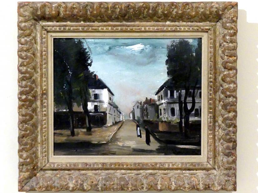 Maurice de Vlaminck: Straße einer Kleinstadt, um 1927