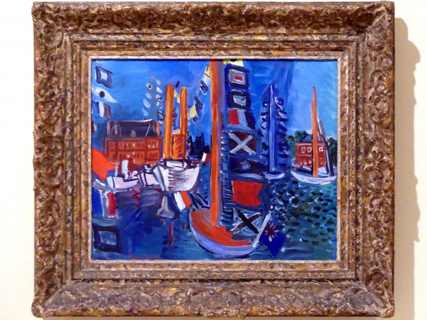 Raoul Dufy: Im Hafen, 1924 - 1929
