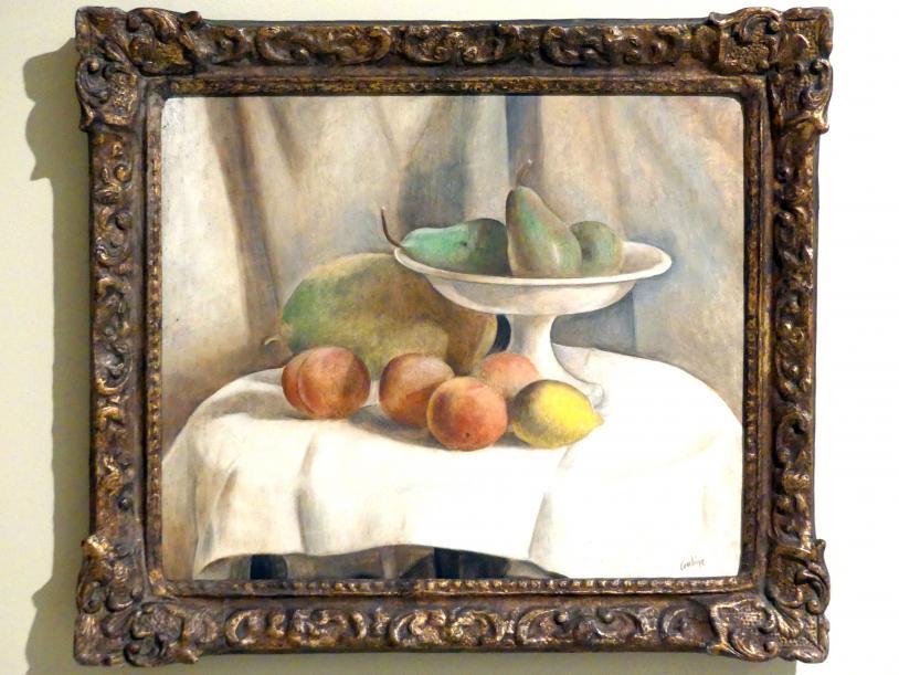 Otakar Kubín: Früchtestillleben, 1921