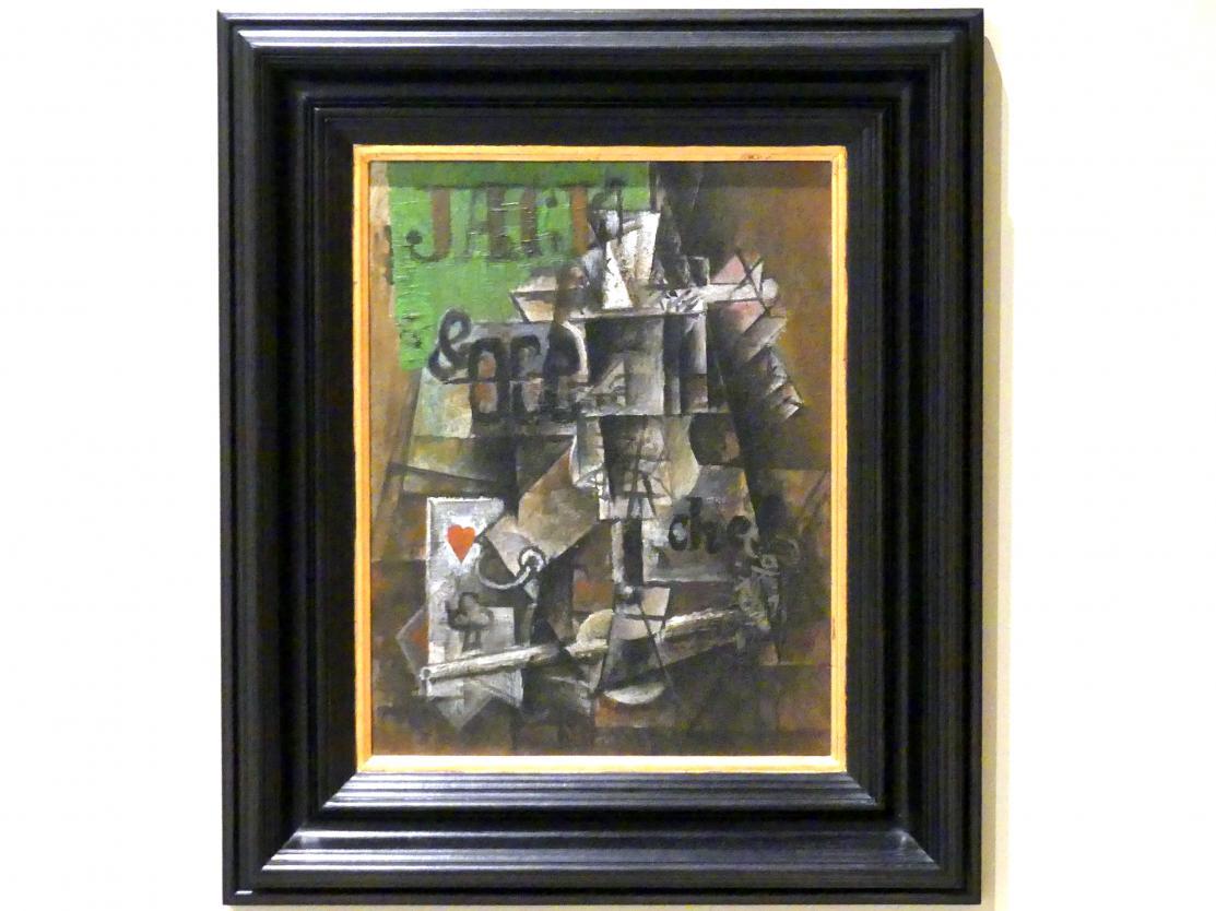 Pablo Picasso: Absinth und Spielkarten, 1912