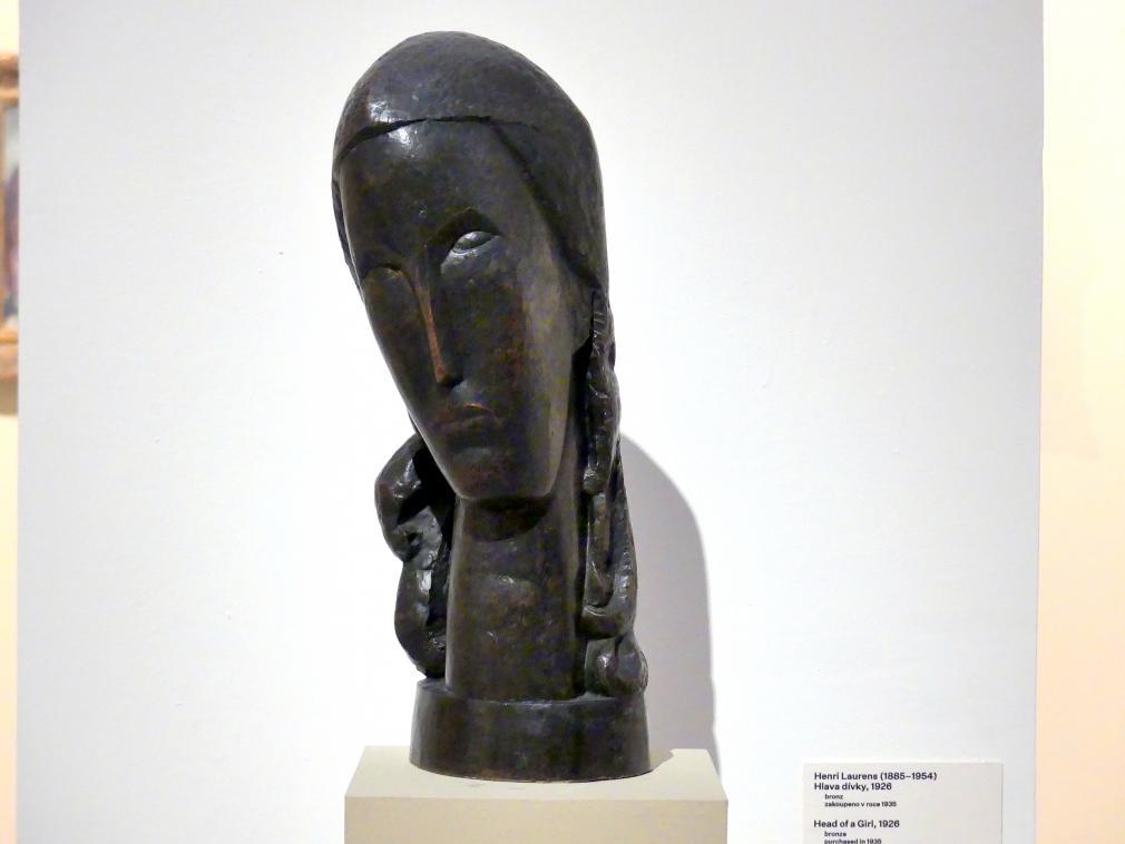 Henri Laurens: Mädchenkopf, 1926