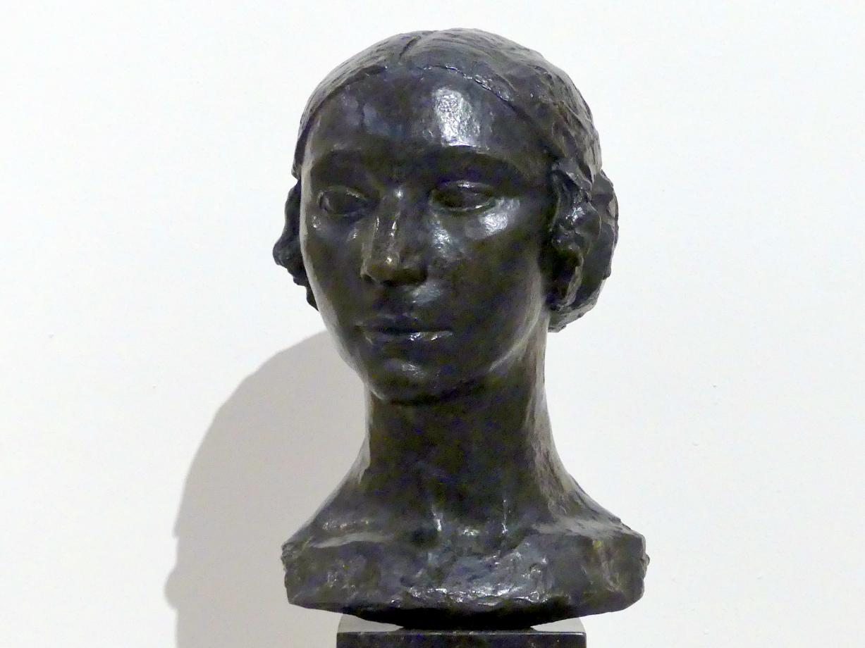Charles Despiau: Frauenkopf (Jeanne Kamienska), 1921