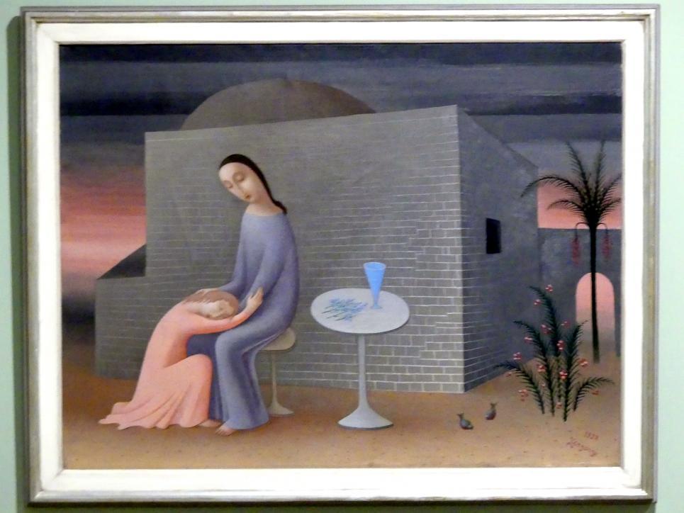 Jan Zrzavý: Christus und Johannes, 1928