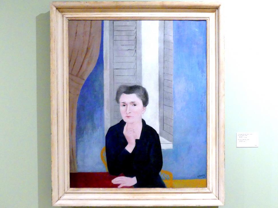 František Muzika: Porträt der Mutter, 1926