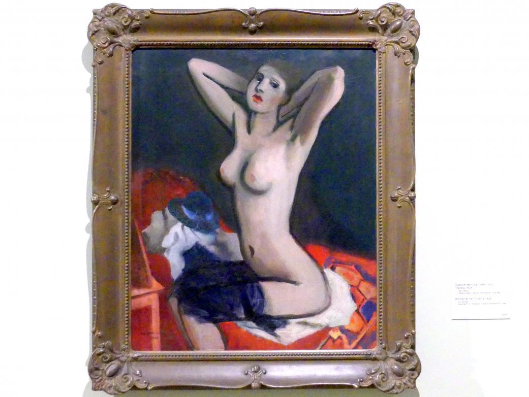 Rudolf Kremlička: Frau bei der Toilette, 1928